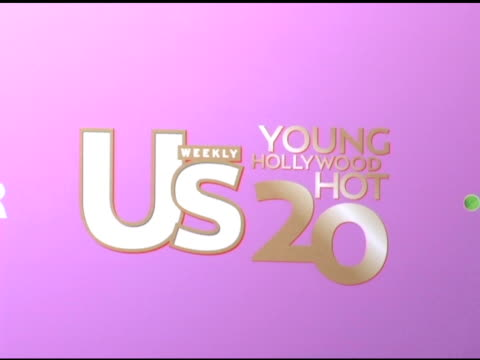 atmosphere at the us weekly's young hollywood hot 20 at lax in hollywood, california on september 17, 2005. - us weekly stock videos & royalty-free footage