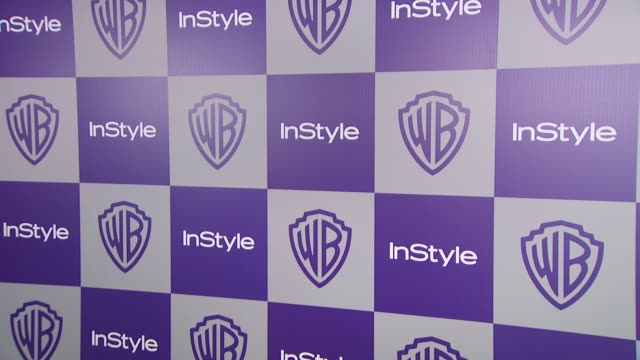 vídeos y material grabado en eventos de stock de atmosphere at the warner bros and instyle golden globe afterparty at beverly hills ca - warner bros