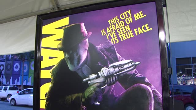 vidéos et rushes de atmosphere at the 'watchmen' premiere at los angeles ca. - première