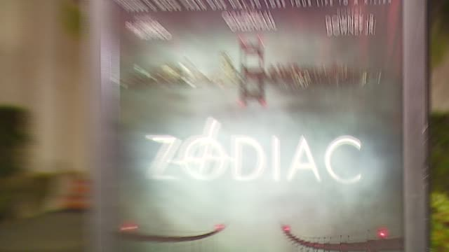 atmosphere at the 'zodiac' premiere at paramount theatre in los angeles california on march 1 2007 - conceptual symbol stock videos and b-roll footage