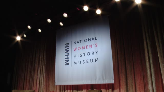 atmosphere at women making history awards honoring kerry washington instagram coo marne levine spacex president coo gwynne shotwell at the beverly... - direttrice video stock e b–roll