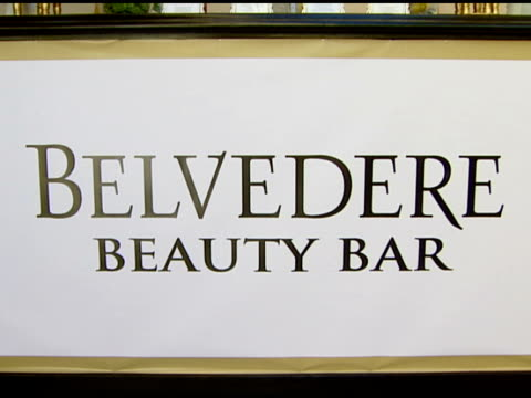 Belvedere Beauty Bar at the HBO Luxury Lounge Featuring Belvedere at Four Season's Hotel in Beverly Hills California on September 11 2007