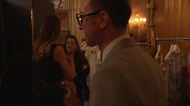 gianluca longo, dorchester collection fashion prize judge at the dorchester collection fashion prize at london england. - judge entertainment stock videos & royalty-free footage