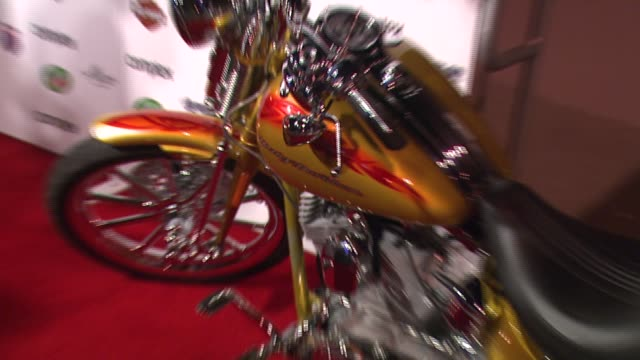 stockvideo's en b-roll-footage met harley davidson at the 5th anniversary of complex magazine hosted by travis barker at area in west hollywood california on april 10 2007 - travis barker