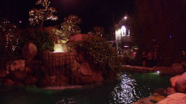 atmosphere inside the playboy mansion at the sammy sideout's 3rd annual alzheimer's benefit at the playboy mansion shuttle plu @ hotel angelino in... - playboy mansion stock videos & royalty-free footage