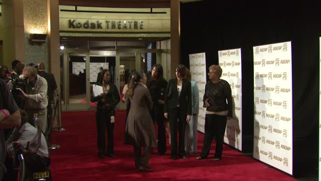 vidéos et rushes de atmosphere - kodak theatre interior ascap backdrop at the ascap film and tv music awards at the kodak theatre in hollywood, california on april 17,... - ascap
