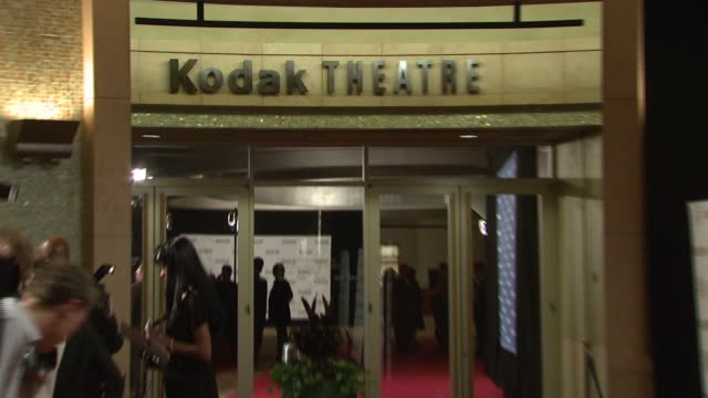 vidéos et rushes de atmosphere kodak theatre interior at the ascap film and tv music awards at the kodak theatre in hollywood california on april 17 2007 - ascap