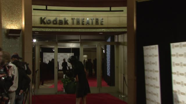 vidéos et rushes de atmosphere kodak theatre red carpet interior at the ascap film and tv music awards at the kodak theatre in hollywood california on april 17 2007 - ascap