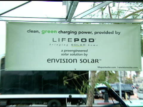 Lifepod vehicle at the Global Green USA's 5th Annual PreOscar Party at NULL in Hollywood California on February 20 2008