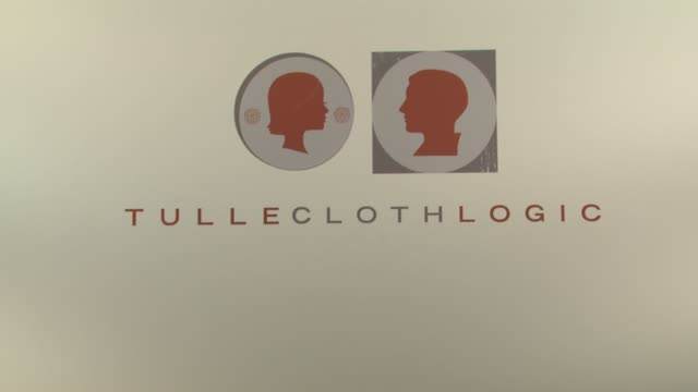 tulle and cloth logic at the los angeles fashion week tulle and cloth logic at los angeles ca - tulle stock videos and b-roll footage