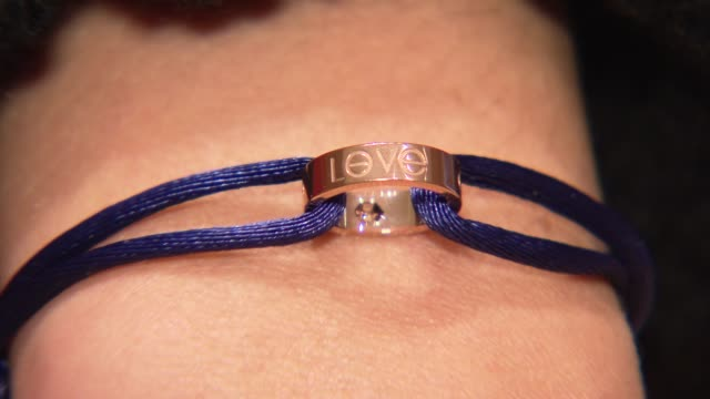 Love Bracelet at the Eva Mendes Launches Cartier Love Charity Bracelet To Benefit Art Of Elysium at New York NY