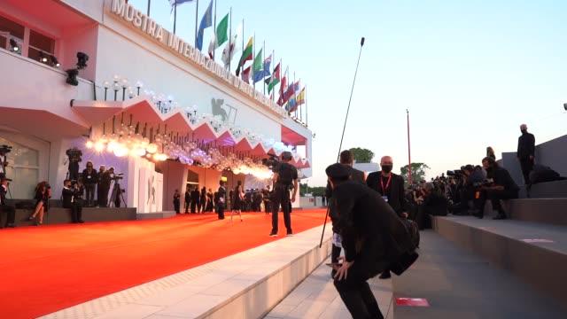 ITA: 'Le Sorelle Macaluso (The Macaluso Sisters)l'Red Carpet Arrivals, 77th Venice Film Festival
