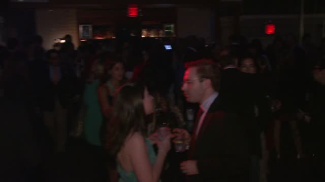 party at the oceana nautica vanity fair celebrate world oceans day at new york ny - oceana stock videos & royalty-free footage