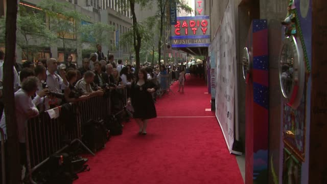 red carpet at the 63rd annual tony awards red carpet at new york ny - annual tony awards stock videos & royalty-free footage