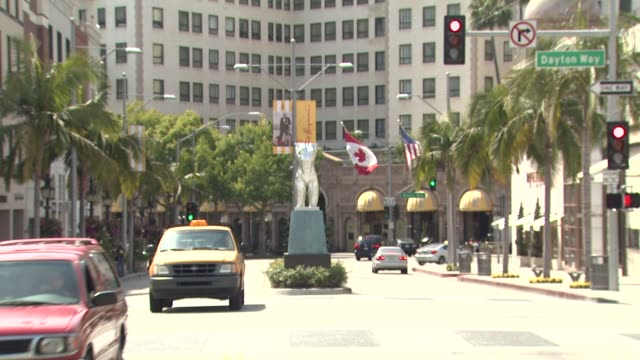 Rodeo Drive at the Rodeo Drive Walk Of Style Event Honoring Fred Hayman at Beverly Hills CA