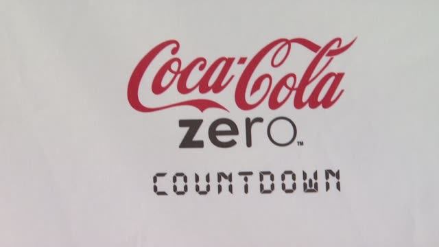 signage at patron presents the maxim party featuring cocacola zero countdown with paul mitchell on 2/4/12 in indianapolis in - paul mitchell stock videos and b-roll footage