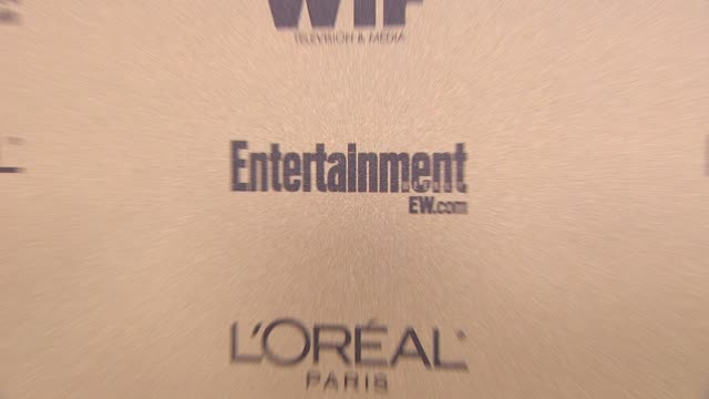 signage at the entertainment weekly and women in film pre-emmy party at west hollywood ca. - pre emmy party stock videos & royalty-free footage