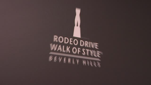 signage at the iman and missoni honored with rodeo drive walk of style at beverly hills ca - missoni stock videos & royalty-free footage