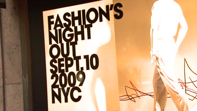 signage at the michael kors debra messing bring hollywood to macy's herald square at new york ny - debra messing stock videos and b-roll footage
