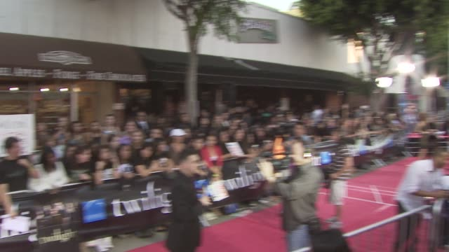 atmosphere 'twilight' premiere @ mann village at the 'twilight' premiere at los angeles ca - regency village theater stock videos & royalty-free footage
