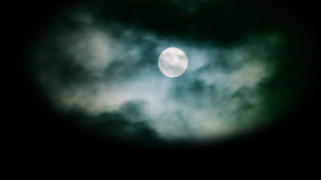 atmospheric moon - dark stock videos & royalty-free footage