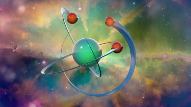 atom スペース - high scale magnification点の映像素材/bロール