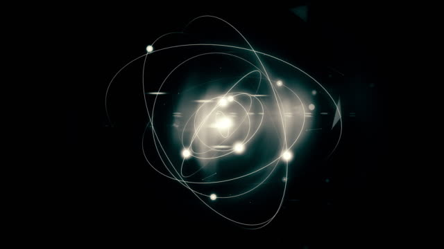 atomic spin - quantum physics stock videos & royalty-free footage