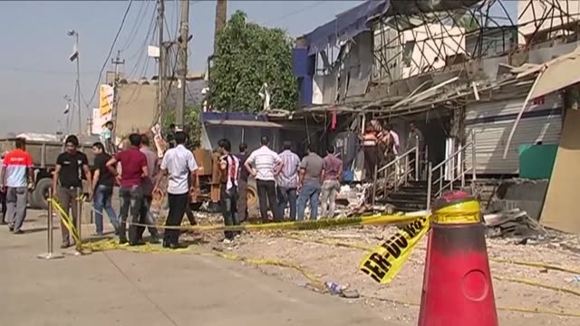 attacks in iraq including a wave of car bombings across baghdad killed 31 people monday in a renewed surge of violence as shiite muslims in iraq... - shi'ite islam stock videos & royalty-free footage