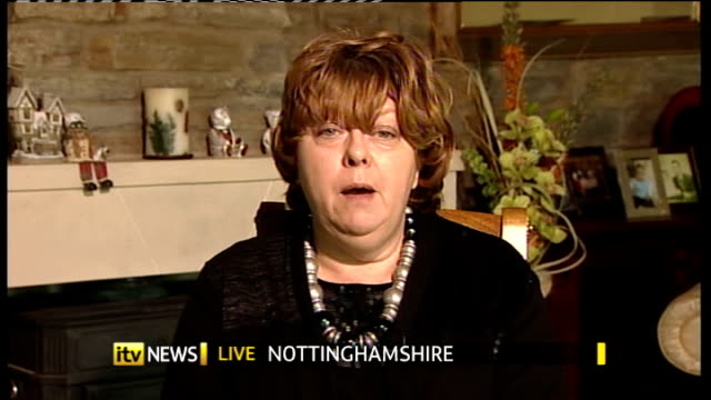 attempts to encourage older children to eat school dinners england london gir int jeanette orrey live 2way interview ex nottinghamshire sot - nottinghamshire stock videos & royalty-free footage