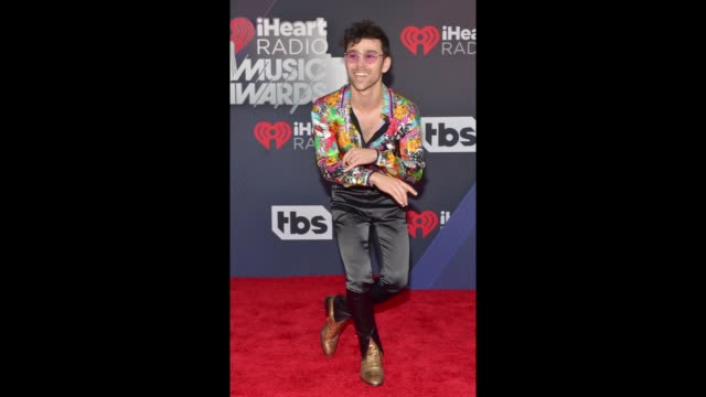 MAX attends at the 2018 iHeartRadio Music Awards which broadcasted live on TBS TNT and truTV at The Forum on March 11 2018 in Inglewood California