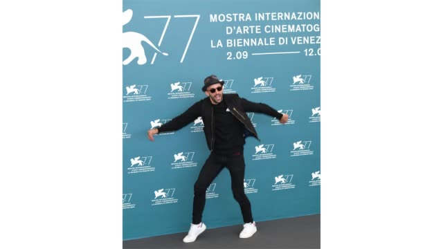venice italy september 07 jr attends the photocall of the movie omelia contadina at the 77th venice film festival on september 07 2020 in venice italy - gif stock videos & royalty-free footage