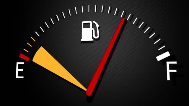 attention à la jauge de carburant