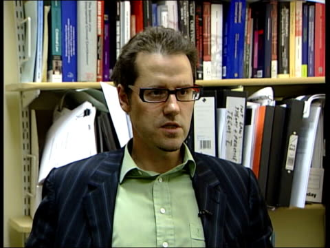 Attorney General advice on Iraq war published ENGLAND London Dr Gerry Simpson interview SOT the UK was one of the architects of the collective...