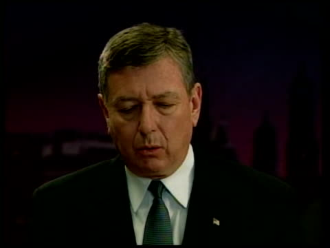 attorney general john ashcroft to leave the cabinet; pool washington: int cms ashcroft speaking sot - claims padilla was planning to explode a... - attorney general stock videos & royalty-free footage