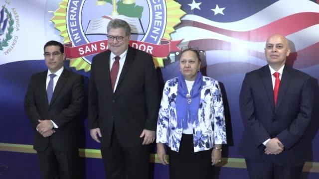 SLV: US AG agrees to maintain fight against gangs in Central America