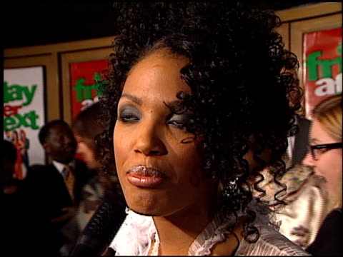 kd aubert at the 'friday after next' premiere at the mann national theatre in westwood california on november 13 2002 - mann national theater stock videos and b-roll footage