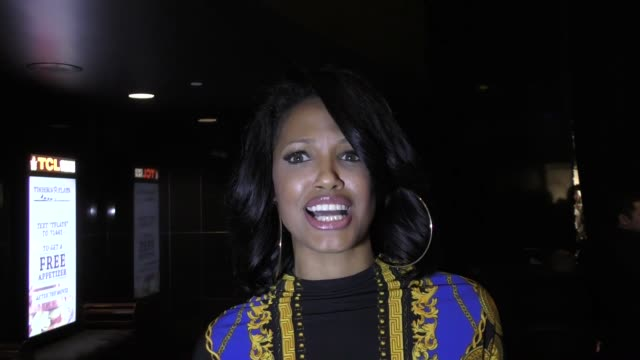 d aubert talks about why donald trump gave omarosa a position at the '48 hours to live' premiere on january 09 2017 in hollywood california - omarosa manigault newman stock videos & royalty-free footage