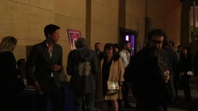 aubrey plaza and craig robinson at 2018 beyond fest an evening with beverly luff linn premiere at the egyptian theatre in hollywood on october 08... - aubrey plaza stock videos and b-roll footage