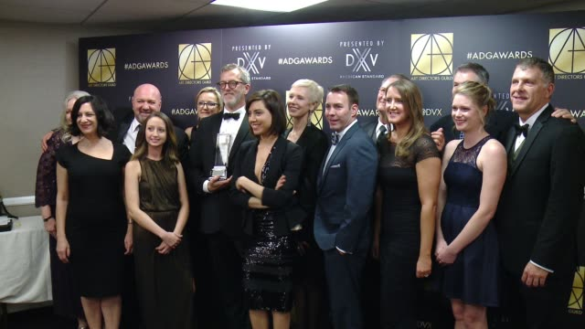 aubrey plaza and mark worthington at art directors guild 20th annual excellence in production design awards at the beverly hilton hotel on january 31... - aubrey plaza stock videos and b-roll footage