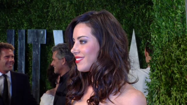 aubrey plaza at the 2013 vanity fair oscar party hosted by graydon carter aubrey plaza at the 2013 vanity fair oscar party at sunset tower on... - aubrey plaza stock videos and b-roll footage