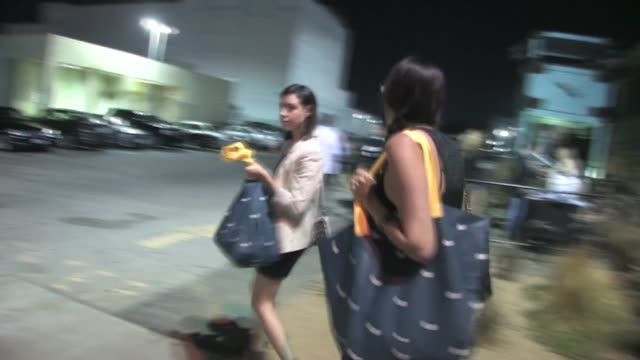aubrey plaza at the colony in hollywood - aubrey plaza stock videos and b-roll footage