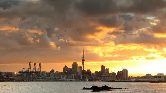 Auckland City skyline