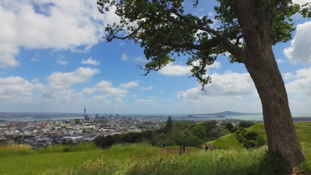 Auckland City View from Mt Eden.