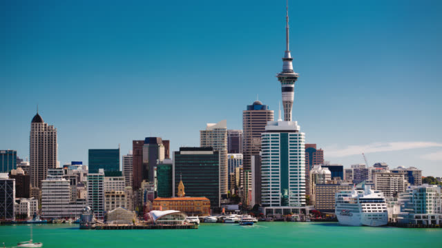 TIME LAPE: Auckland Skyline