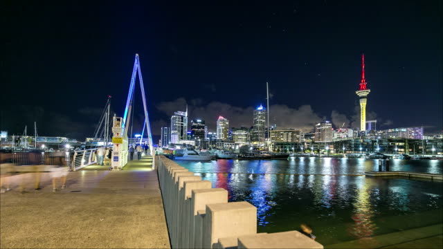 Auckland Viaduct Basin Time-lapse