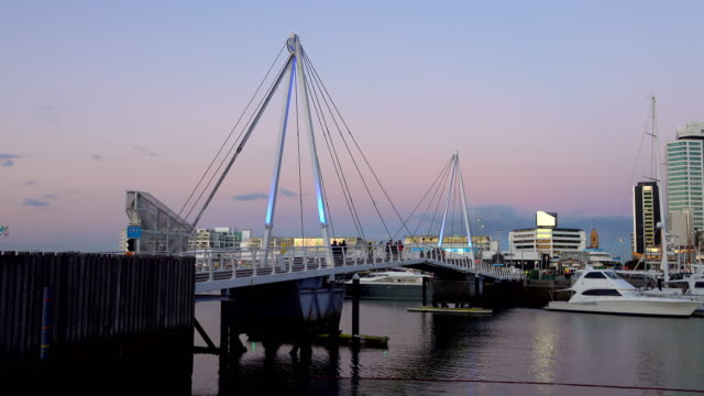 auckland viaduct basin - auckland ferry stock videos & royalty-free footage