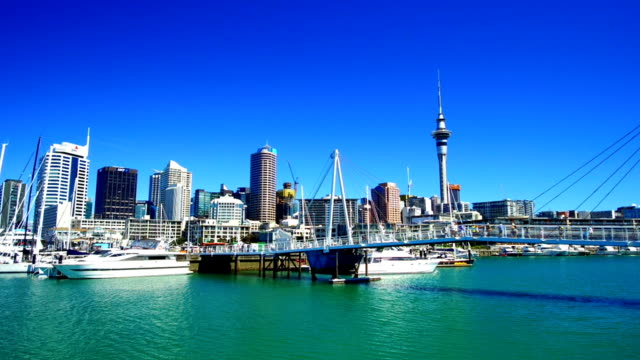 Auckland Viaduct Harbor