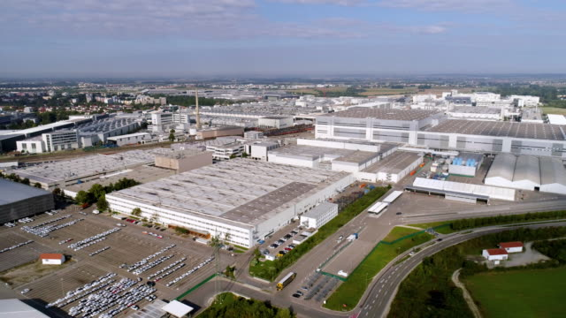 audi car production plant in ingolstadt - car plant stock videos & royalty-free footage