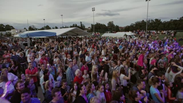 CS Audience at an open-air concert