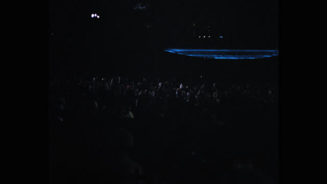 audience in hollywood bowl, hollywood hills, los angeles, california, usa - orchestra stock videos & royalty-free footage